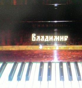 "Пианино ""Владимир"""