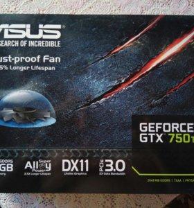 Видеокарта GeForce GTX 750ti