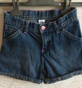 Джинсовые шорты Carters