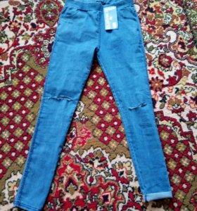 Продам леггинсы джинсовые