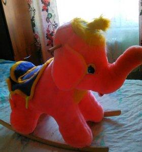 Качалка слоненок