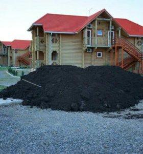 Чернозем торф почвосмеси
