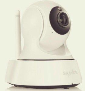 Поворотные IP WiFi камеры видеонаблюдения