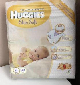 Подгузники Huggies Elite Soft (2)