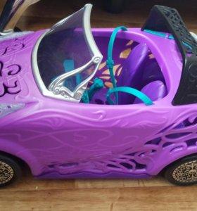 Машина  для кукол Monster high