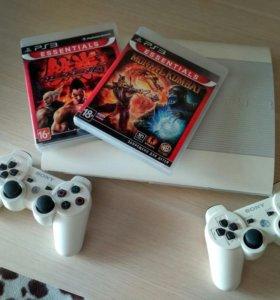 PS3 500gb+ 8 игр
