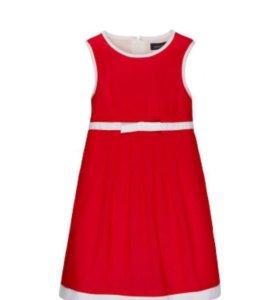 Платье летнее на девочку рост 110