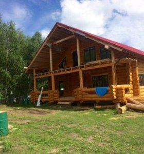Строительство деревянных домов из цельного бревна