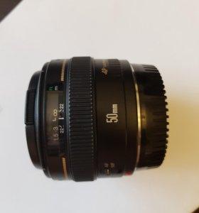 Объектив Canon Lens EF 50 mm f/1.4