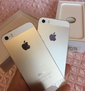 Iphone 5s (silver & gold)