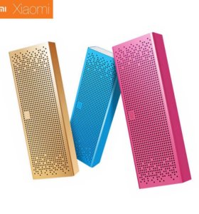 Xiaomi Square Box (портативная колонка) 3 цвета