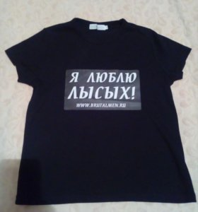Прикольная футболка))