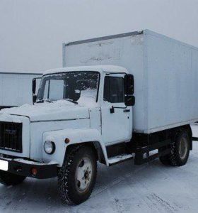 Грузоперевозки Газ 3309 изотермический фургон.