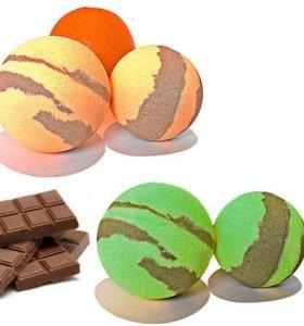 Бомбочки для ванны шоколадная серия