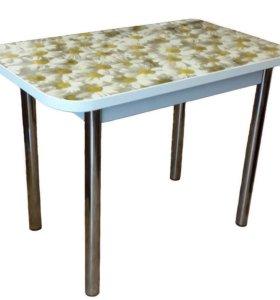 Лотос Ромашки Прямоугольный Обеденный стол