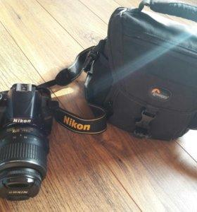 Фотоаппарат никон D3100 в отличном состоянии