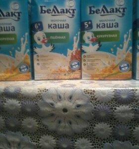 Молочные каши белакт