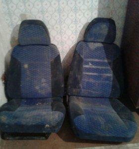 Комплект сиденьев на ваз купе 2112