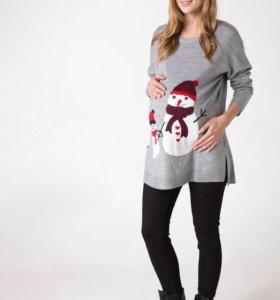 Джемпер для беременных (и не только)