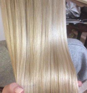 Нанопластика волос, кератиновое выпрямление