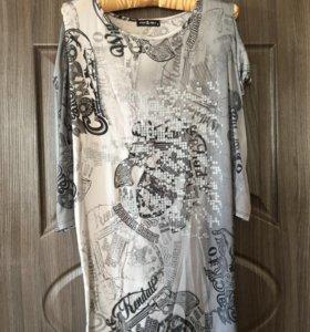 Платье-туника 1+1=3🎁