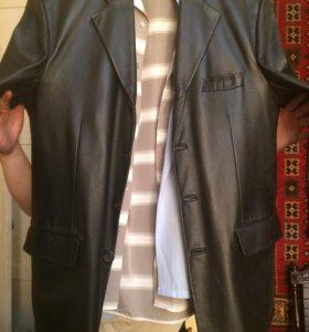 Кожаный пиджак (новый)