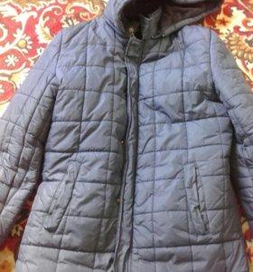 Зимная куртка продам не дорого возможно ещё уступл