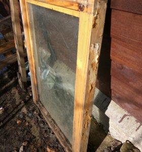 Окна деревянные со стеклопакетом