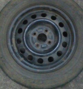 Колесо на запаску 4×100 R14