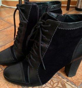 Обувь женская кожаная