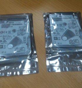 Жесткие диски Hitachi 7200rpm 500 Gb slim новые
