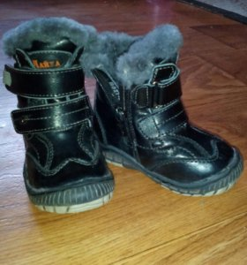 Зимние ботиночки р 21