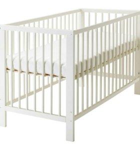 Продается детская кроватка икеа