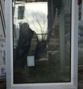 Глухое окно пластиковое