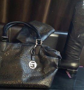 Комплект сумка и сапоги