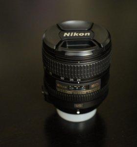Nikon Nikkor af-s 24-85 mm f/3.5-4.5g ed vr