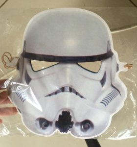 Звездные войны маска