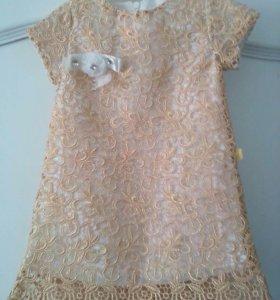 Платье , детский костюм белый, комбинезон