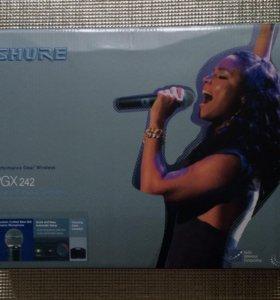 Новый! Микрофон 🎤 SHURE, в комплекте 2 микрофона!