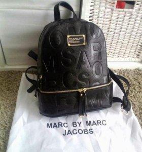 Женский рюкзак кожаный марк джейкобс mark jacobs