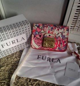 Женская сумка кожа фурла