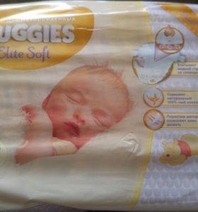 Подгузники Huggies Elite Soft 1