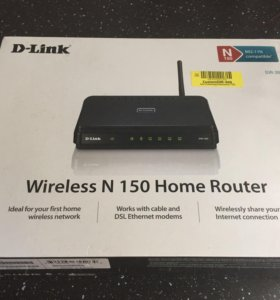 Роутер Dlink wireless n150