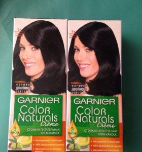 Крем-Краска для волос ультра чёрный