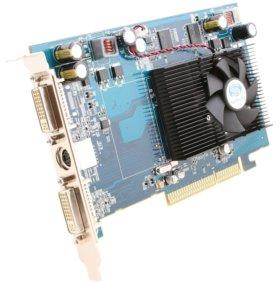 Видеокарта AGP 512 Мб