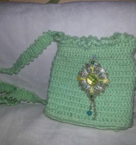 Сумочка вязанная