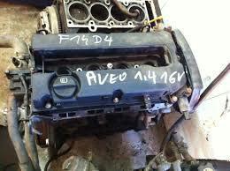 Двигатель Chevrolet Aveo 1.4л