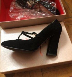 Туфли замшевые калипсо