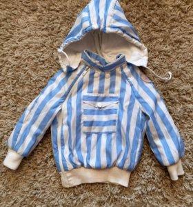 Куртка утеплённая 90см