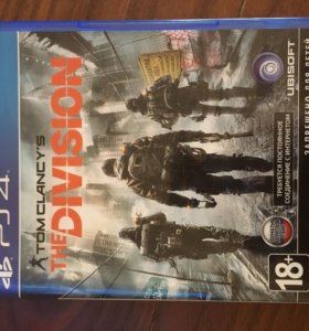 Диск для PS4 Tom Clancy's The Division